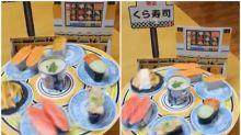 【新片速報】日本「小學雞迴轉壽司」 只得6件背後有玄機