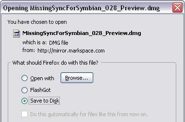 Mark/Space offers up Missing Sync beta for S60 / UIQ devices