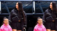 Kim K is criticised for straightening North's hair