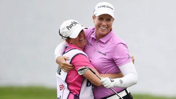 LPGA star shoots under-par round in PGA event