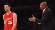 Father and son Clippers Austin and Doc Rivers are ejected within minutes of each other