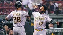 Kaprielian picks up 1st MLB win as A's outlast Red Sox 4-1