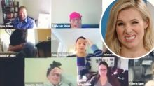 'I'm cringing': Woman's video chat blunder while working from home goes viral