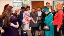 Junge trifft auf Queen Elizabeth – und ergreift umgehend die Flucht
