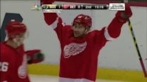 Tomas Tatar rips it top-shelf on Tuukka Rask