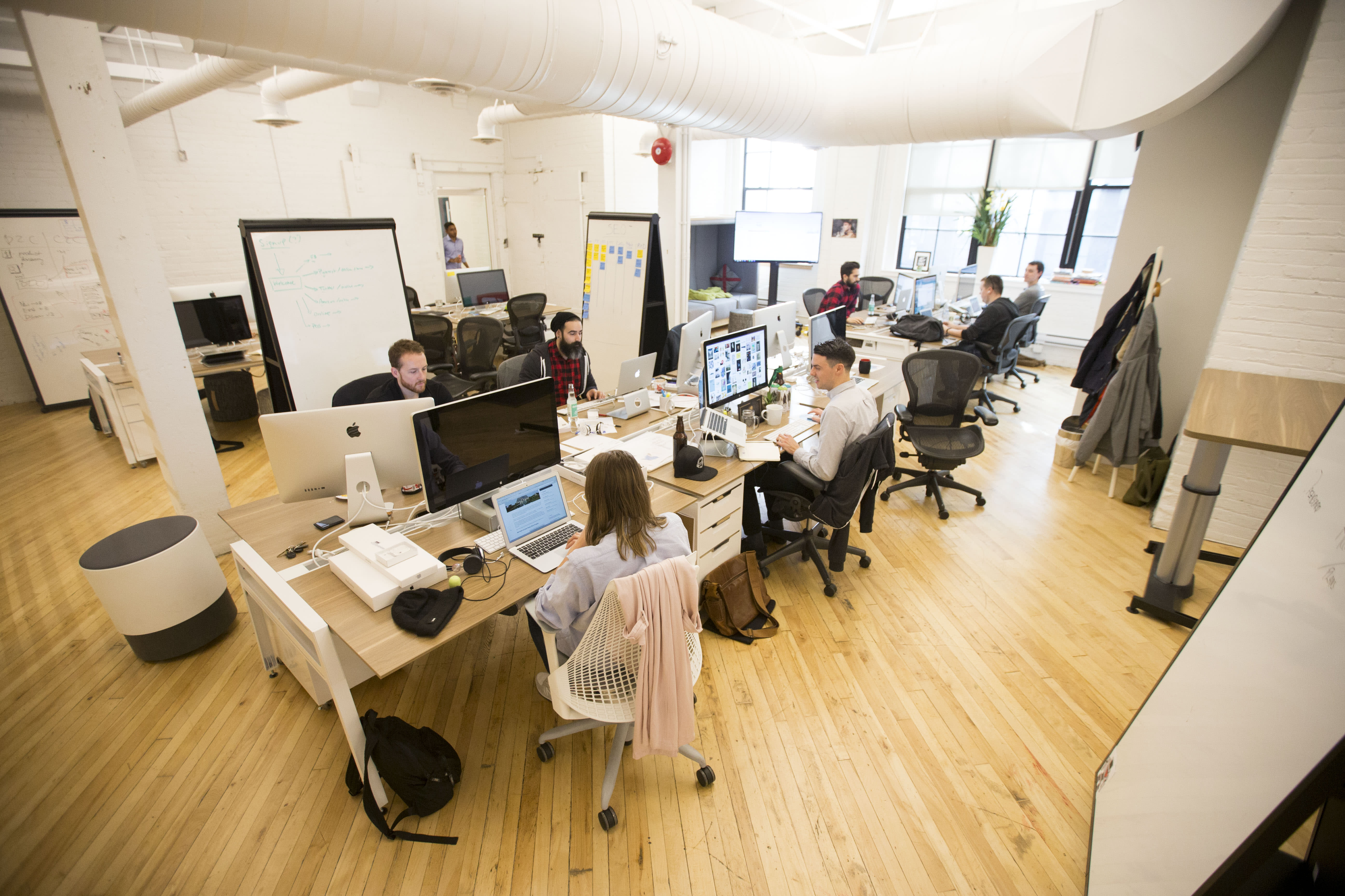 As coronavirus crisis pushes more to work from home, some see an end to 'office centricity'