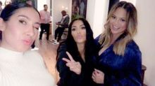 Kim Kardashian threw Chrissy Teigen a baby shower