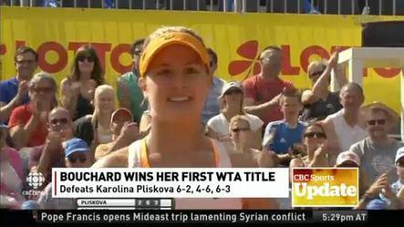 Eugenie Bouchard wins Nuremberg Cup
