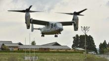 US military chopper window falls on Japan school