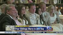VIDEO: 4 sibilings marry on the same day