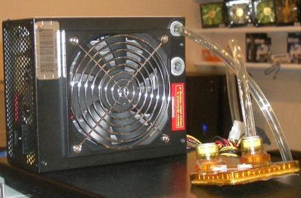 JSP Tech's 450-watt liquid-cooled power supply