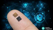 Maxim's Secure Microcontroller Delivers Advanced Cryptography, Secure Key Storage and Tamper Detection in a 50 Percent Smaller Package