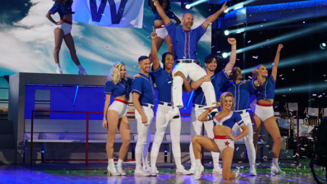 David Ross perfect in one of his last 'Dancing with the Stars' routines
