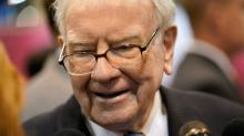 Berkshire shares surge as Buffett wins more power for stock buybacks