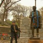 Controversial Dr. J. Marion Sims statue removed from Central Park