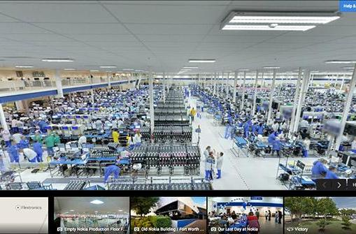 Google Street View gives you a tour of where Moto X's are born