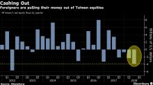 Foreign Investors Pull Most Cash From Taiwan Stocks Since 2012