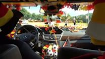 Quirky German cabbie gives new meaning to 'fanatic'