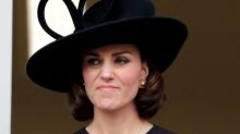 Kate Middleton rocks faux bob and recycles 11-year-old hat