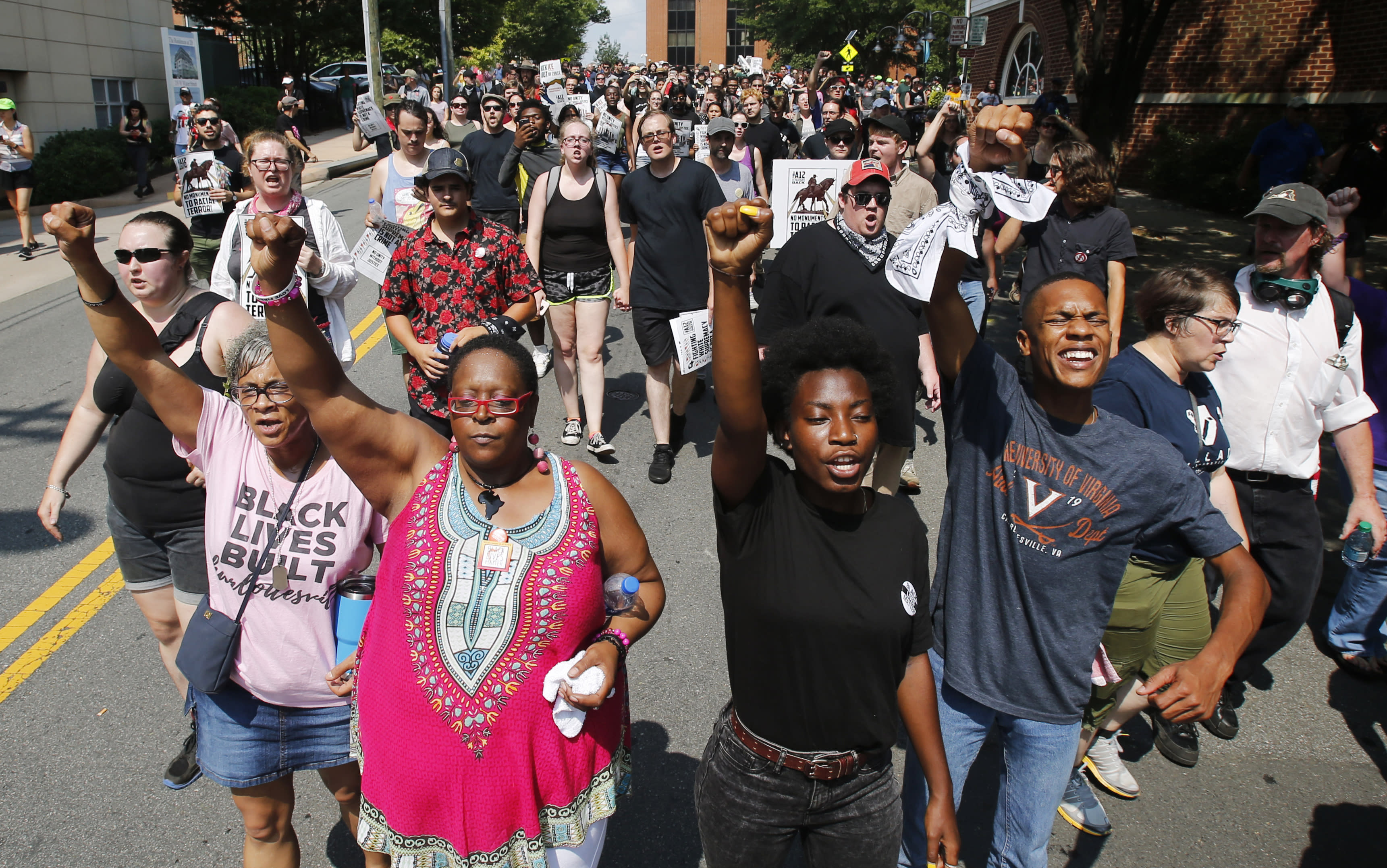 The Latest: Activists gather in Charlottesville