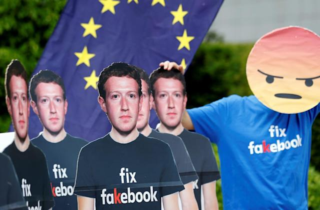 UK politicians blame Facebook for the rise of fake news