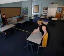 Teachers can stay away when schools reopen if they have safety fears, Downing Street indicates