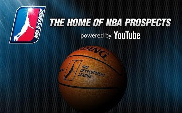 YouTube's biggest sports deal so far will bring live NBA D-League games starting Friday