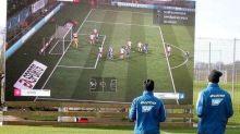 FOTO   La genialidad de los futbolistas del Hoffenheim con una pantalla gigante del club