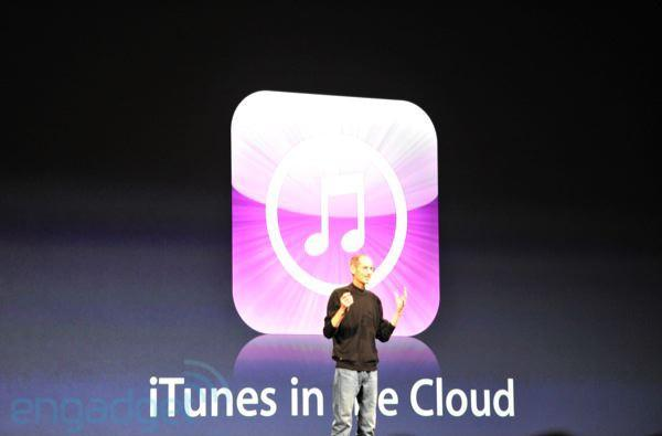Apple announces iTunes in the Cloud, iTunes Match