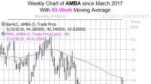 Climbing Ambarella Shares Could Cool Off