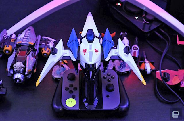 Hands-on with 'Starlink: Battle for Atlas' and its Star Fox ship