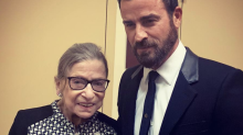 So, Ruth Bader Ginsburg Hung Out With Armie Hammer and Justin Theroux