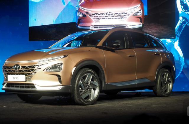 Hyundai unveils its next generation fuel-cell vehicle