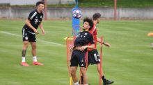 Sané trainiert erstmals mit dem Team