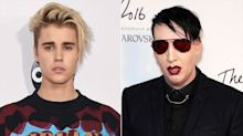 Justin Bieber and Marilyn Manson End T-Shirt Feud After Pop Star Apologizes for 'Coming Off as an A**hole'