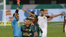 Depois de golaço, Zé Rafael é expulso e desfalca Palmeiras contra o Grêmio