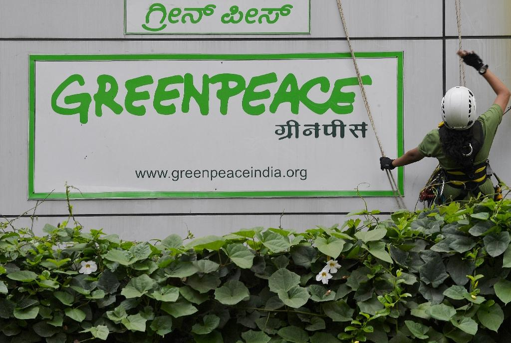 Responding to a petition by Greenpeace, the Madras High Court halted the process to invalidate Greenpeace India's registration after authorities in southern Tamil Nadu state cancelled its licence earlier this month (AFP Photo/Manjunath Kiran)
