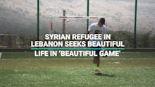 The Syrian Refugee Chasing His Dream Of Being a Professional Footballer