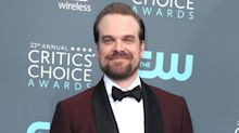Stranger Things' David Harbour took senior photos with a young fan, and they're adorable