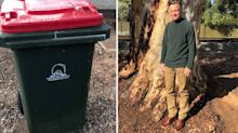 Man reveals why he hasn't put his bin out in three years