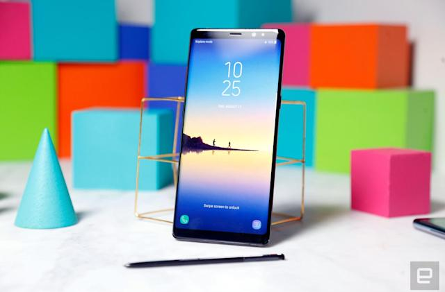 Samsung details safety measures for the Note 8 battery