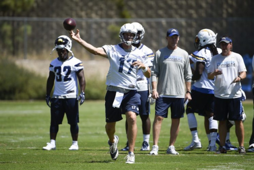 Philip Rivers leads the Chargers into a new era in Los Angeles. (AP)