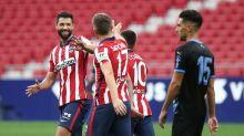 El Atlético ensaya y golea 4-1 al Almería
