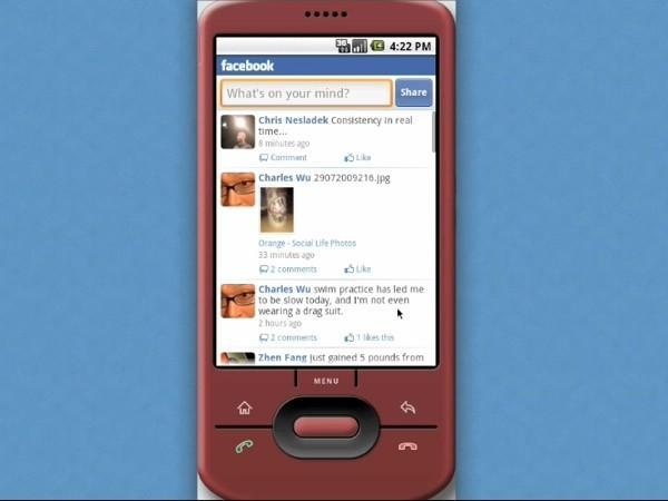 Facebook for Android hits the Market, still playing a bit of catch up