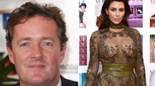 Piers Morgan calls out and shames Kim Kardashian for topless photo