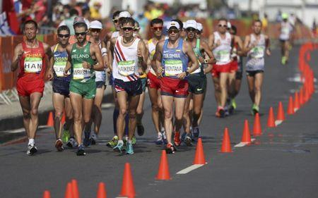 Athletics - Men's 50km Race Walk
