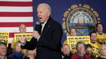 Biden, after a 'gut punch' in Iowa, takes on his rivals in New Hampshire