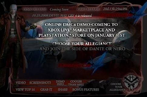 Rumor: Devil May Cry 4 demo coming January 31