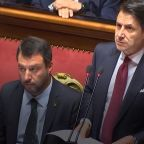 Italian Prime Minister Giuseppe Conte Resigning After Right-Wing Coalition Party Pulls Support