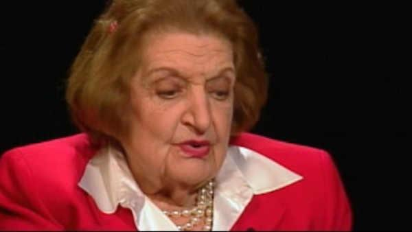 Looking back on the life and career of Helen Thomas
